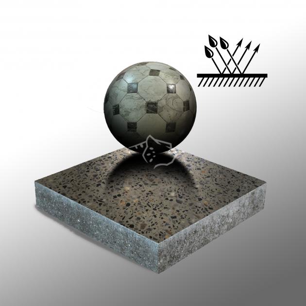 Шлифованный бетон до 200 grit с защитой от воды