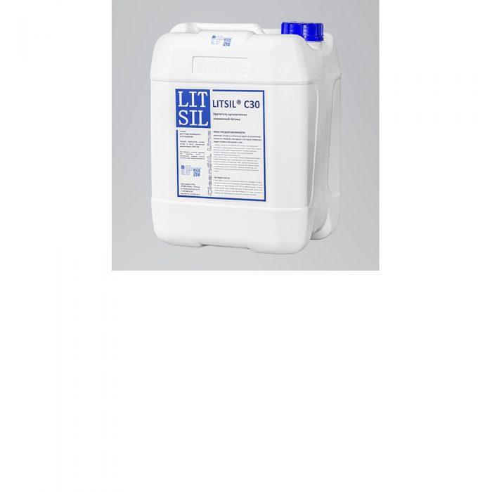 LITSIL C30 Очиститель органических загрязнений бетона