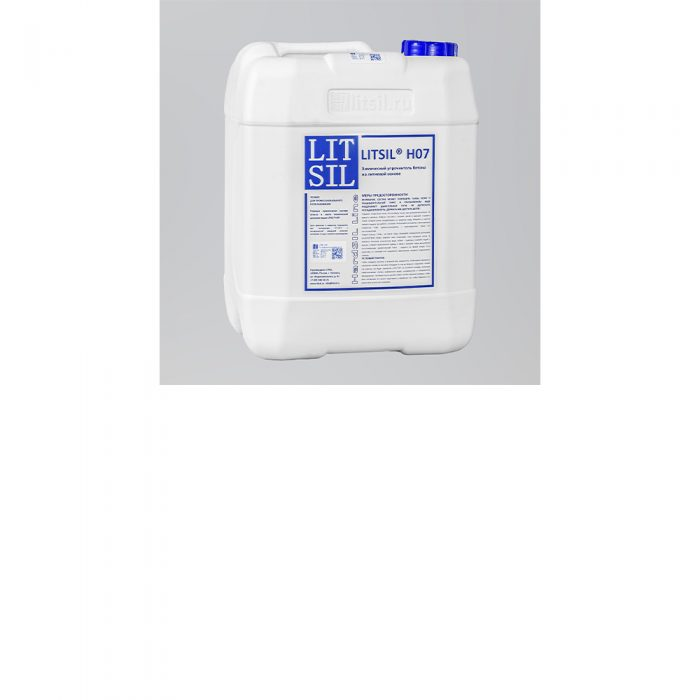 LITSIL H07 Химический упрочнитель бетона на литиевой основе