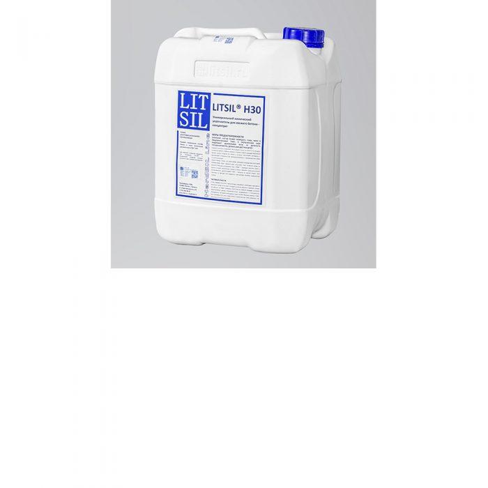 LITSIL H30 Универсальный химический упрочнитель для свежего бетона - концентрат