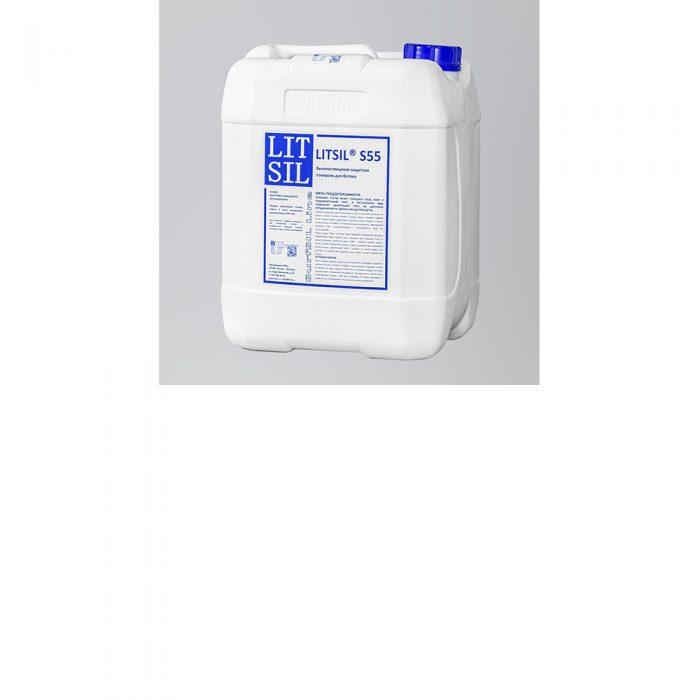 LITSIL S55 Высокоглянцевая защитная полироль для бетона